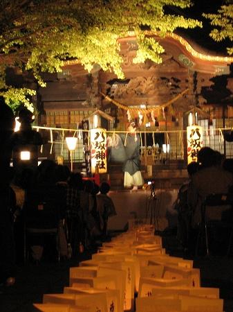 取手八坂神社雅楽の夕べ